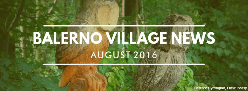 Balerno Village News
