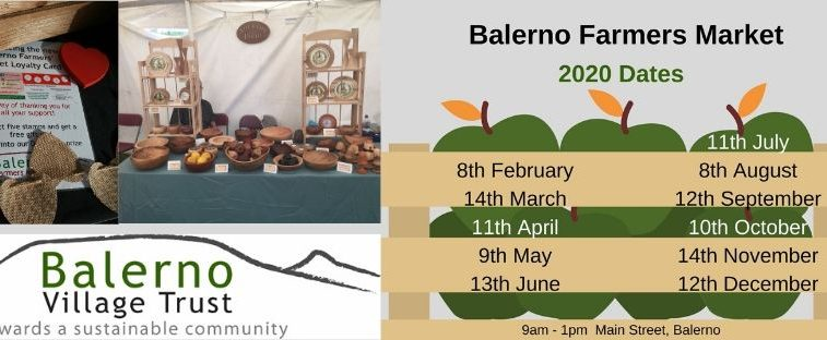Balerno Farmers Market Edinburgh dates 2018